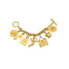 Chanel Iconic 7 Charm Bracelet
