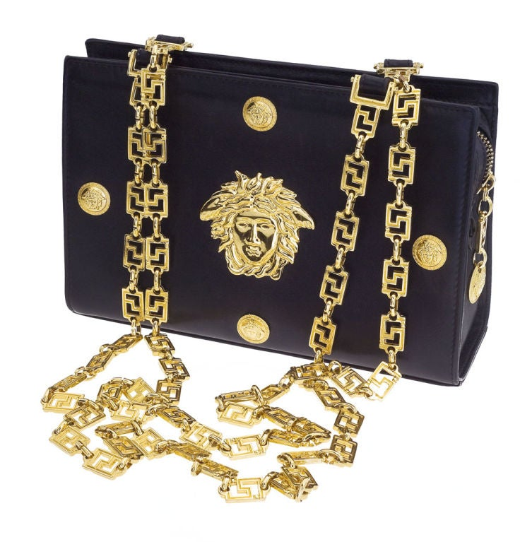 Gianni Versace Couture chain bag with Medusa 2