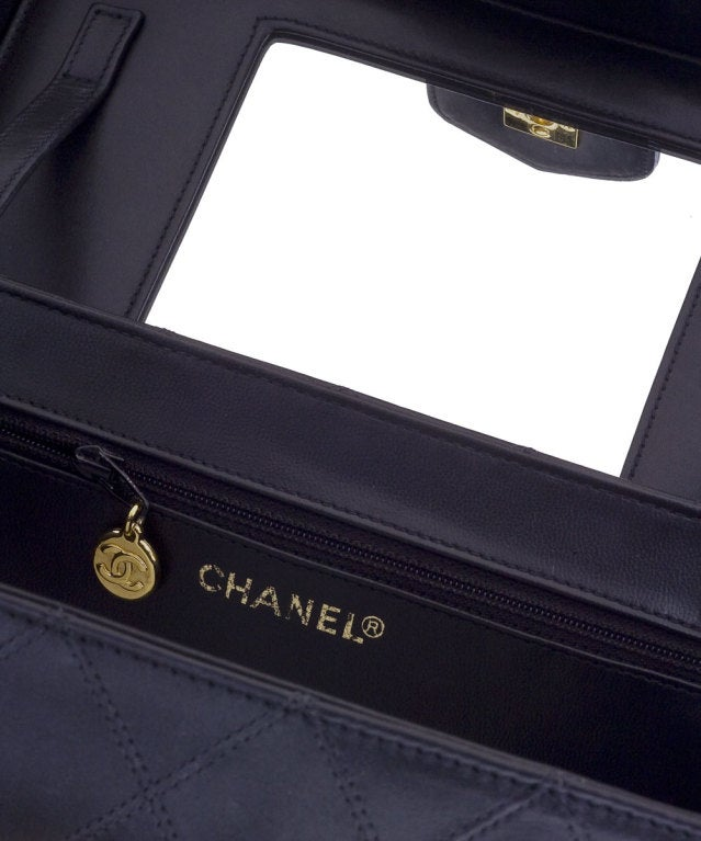 Chanel Quilted Vanity Case Bag 4