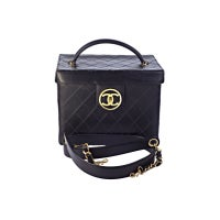 Chanel Quilted Vanity Case Bag