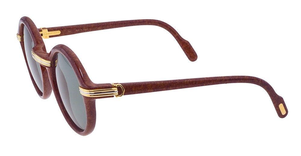 Vintage Cartier Cabriolet Sunglasses 3