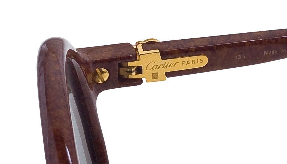 Vintage Cartier Cabriolet Sunglasses 4