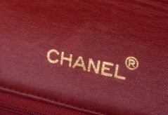 CHANEL RED 2.55 JUMBO QUILTED BAG thumbnail 3