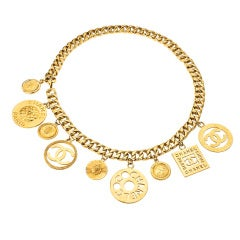 Chanel Large Medallion Belt / Necklace