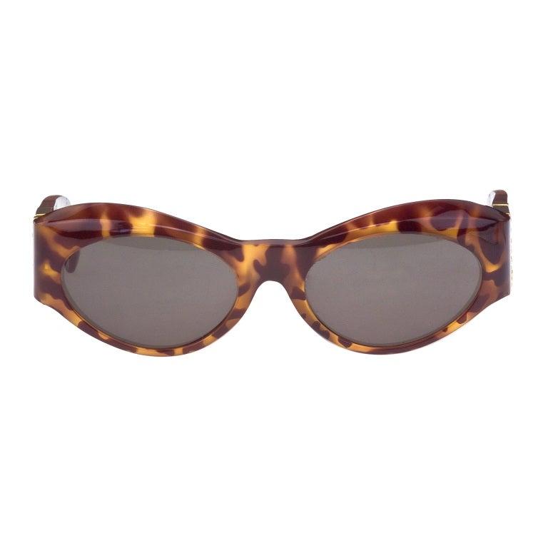 Vintage Versace Sunglasses With Rhinestones