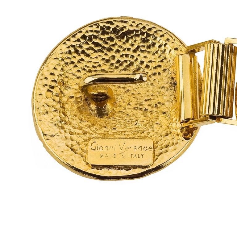 Gianni Versace Gold Massive Medusa Belt 2  sc 1 st  1stDibs & Gianni Versace Gold Massive Medusa Belt For Sale at 1stdibs pezcame.com