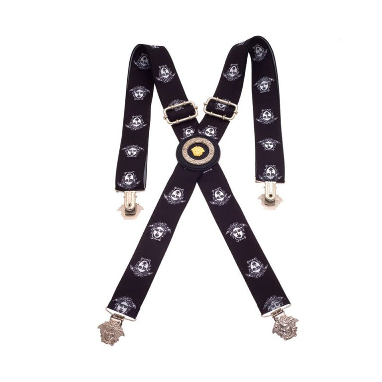 Gianna Versace Medusa Suspenders