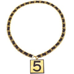 Chanel No.5 Necklace/Belt