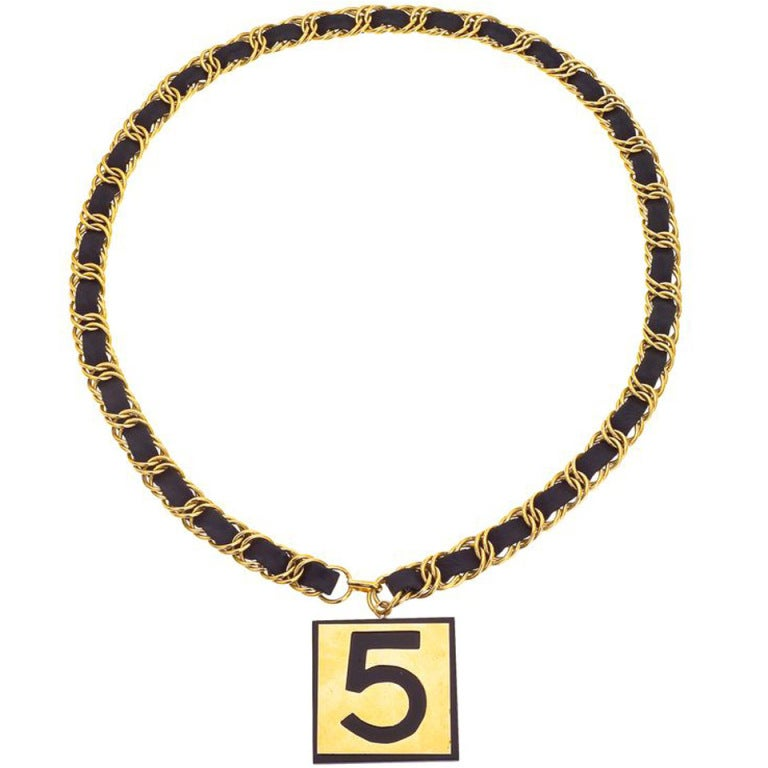 Chanel No.5 Necklace/Belt 1