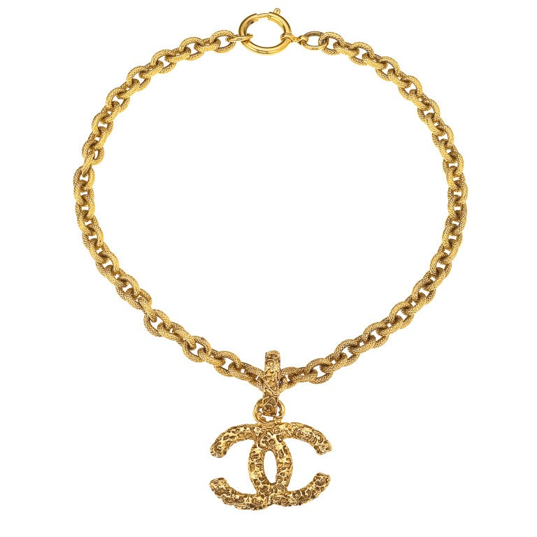 Chanel Iconic CC Necklace For Sale