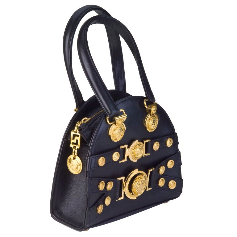 Gianni Versace Mini Bag with Medusa Motifs image 2