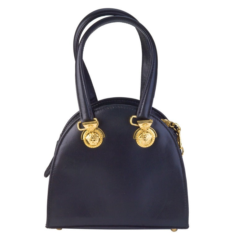 Gianni Versace Mini Bag with Medusa Motifs image 4