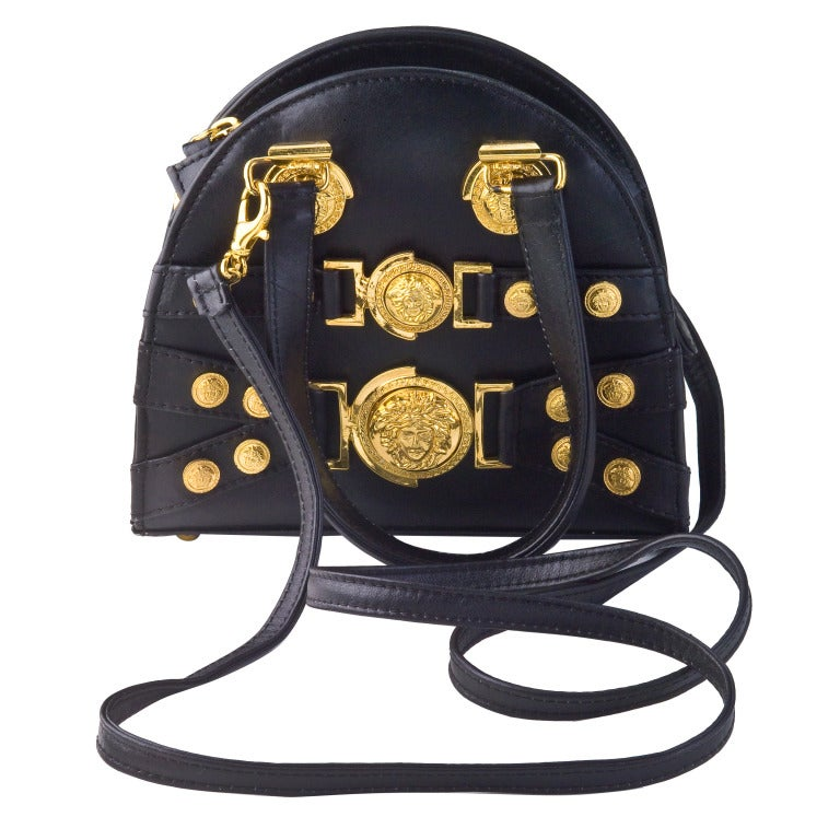 Gianni Versace Mini Bag with Medusa Motifs image 6