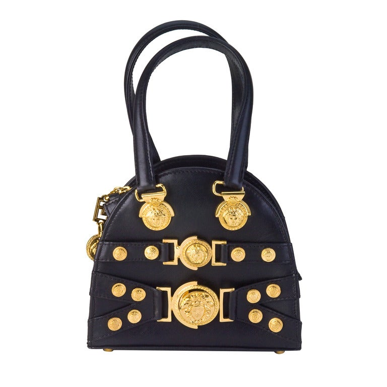 Gianni Versace Mini Bag with Medusa Motifs