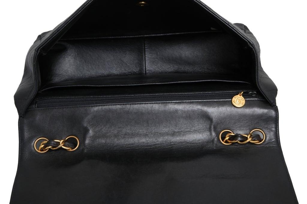 Chanel Lambskin Jumbo Bag For Sale 6