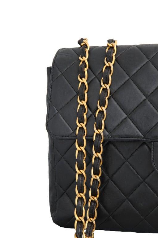 Chanel Lambskin Jumbo Bag image 2
