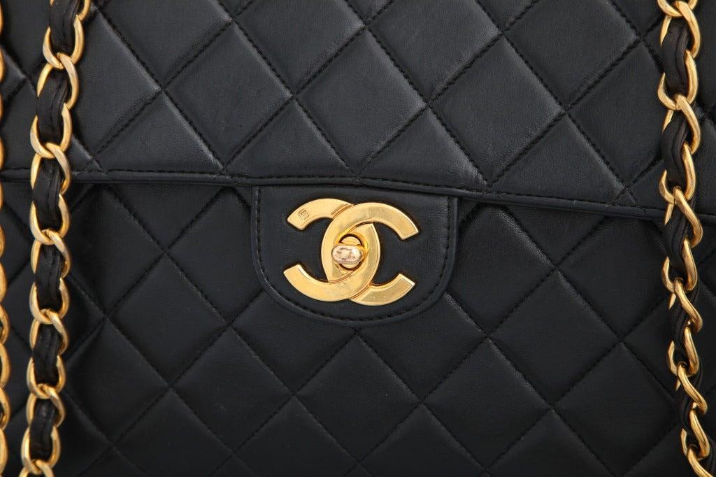 Chanel Lambskin Jumbo Bag image 3