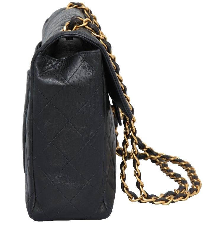 Chanel Lambskin Jumbo Bag For Sale 1