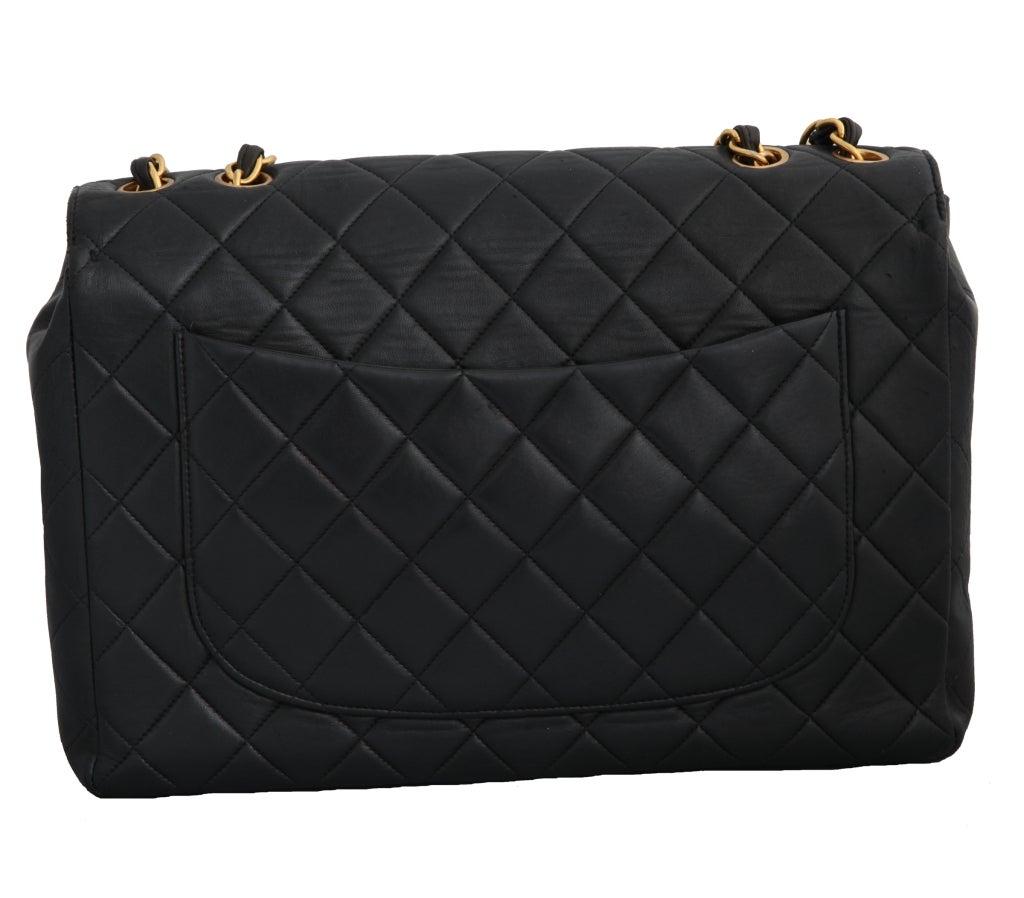 Chanel Lambskin Jumbo Bag For Sale 3