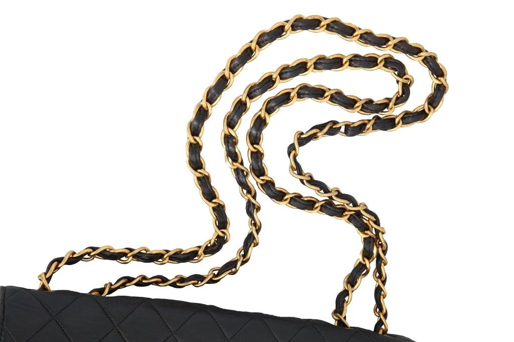 Chanel Lambskin Jumbo Bag For Sale 5