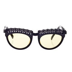 Vintage Jean Paul Gaultier Eiffel Tower Sunglasses