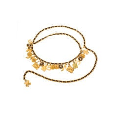 Chanel Iconic Charm Belt / Necklace