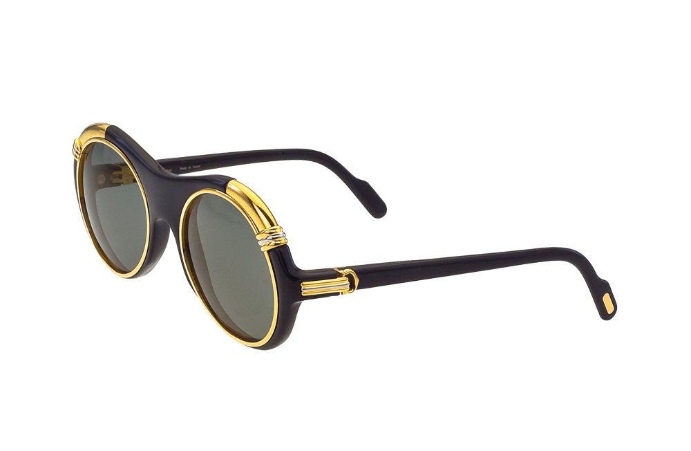 Vintage Cartier Lunette Diablo Sunglasses 2