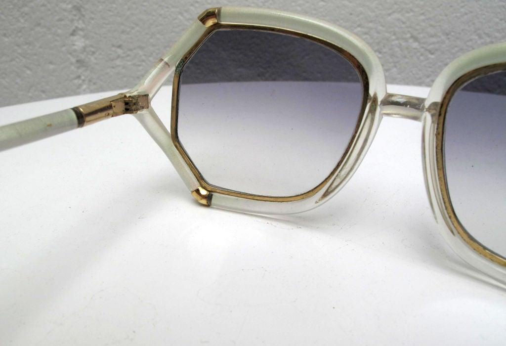 TED LAPIDUS Iridescent Sunglasses 4