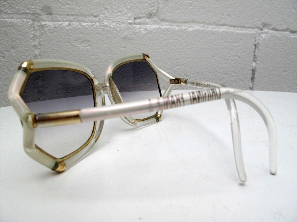 TED LAPIDUS Iridescent Sunglasses 5