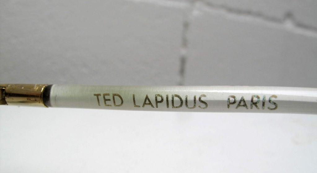 TED LAPIDUS Iridescent Sunglasses 6