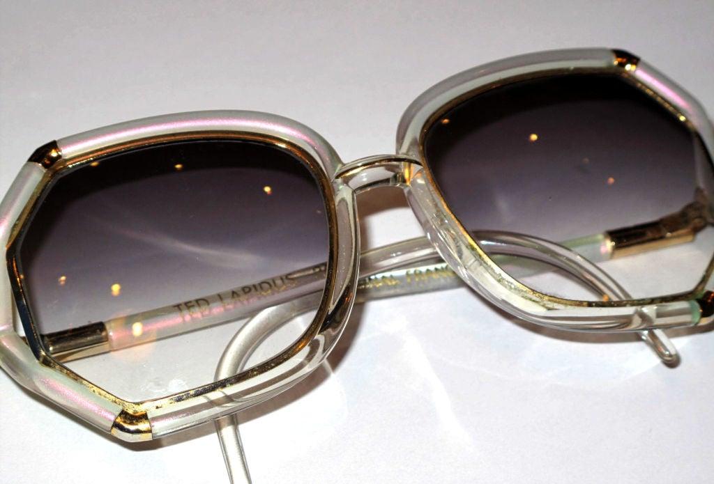 TED LAPIDUS Iridescent Sunglasses 7