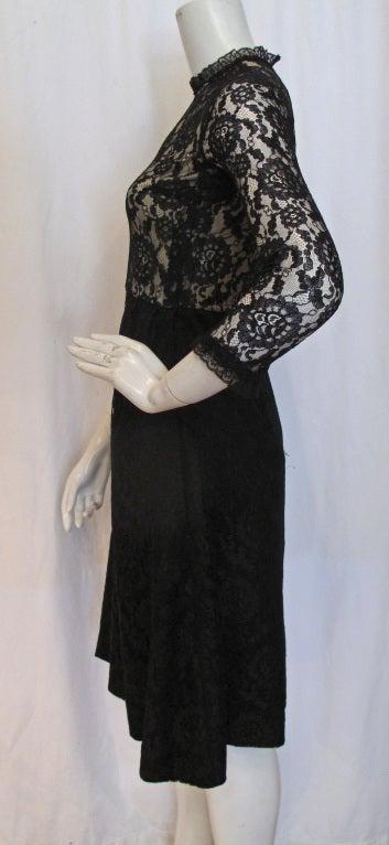 1960s GEOFFREY BEENE boutique Cocktail Dress 2