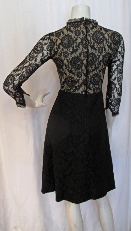 1960s GEOFFREY BEENE boutique Cocktail Dress 3