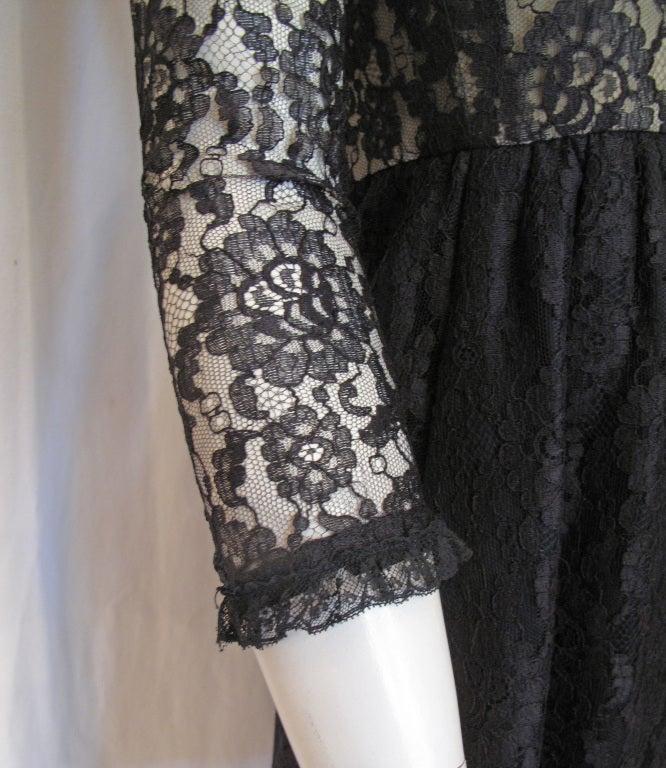 1960s GEOFFREY BEENE boutique Cocktail Dress 4
