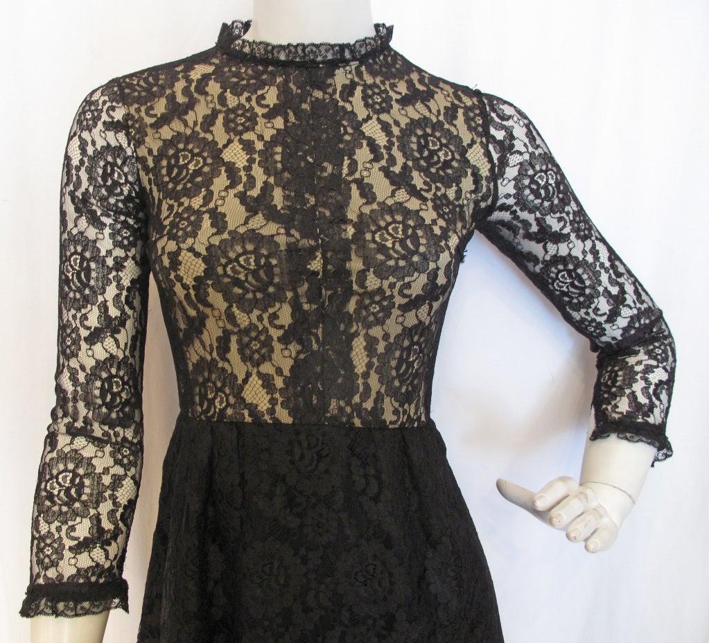 1960s GEOFFREY BEENE boutique Cocktail Dress 5
