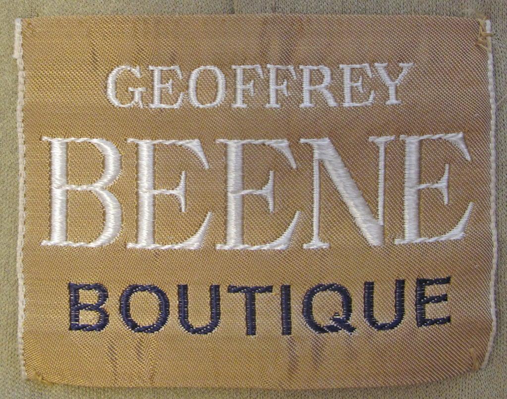 1960s GEOFFREY BEENE boutique Cocktail Dress 6