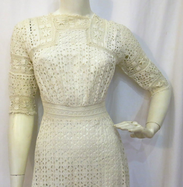 Victorian Lace Cutwork Dress 2