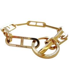 HERMES, 18k Gold Bracelet, France