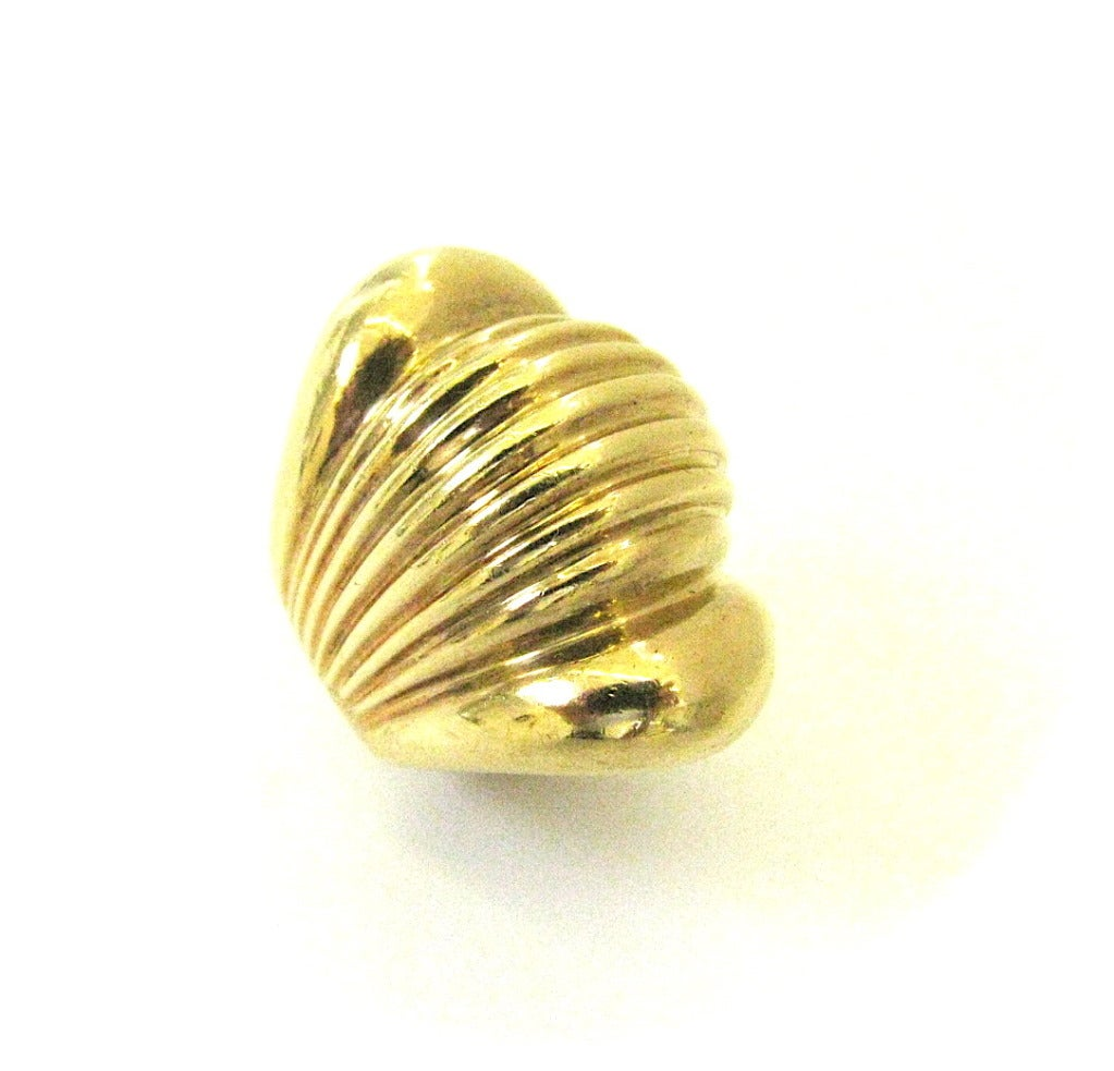 an italian gold bombe ring c1960 at 1stdibs