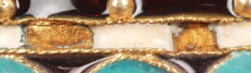 Rare Russian Antique Plique-à-Jour Enamel Easter Egg Converting to Egg Cups 1