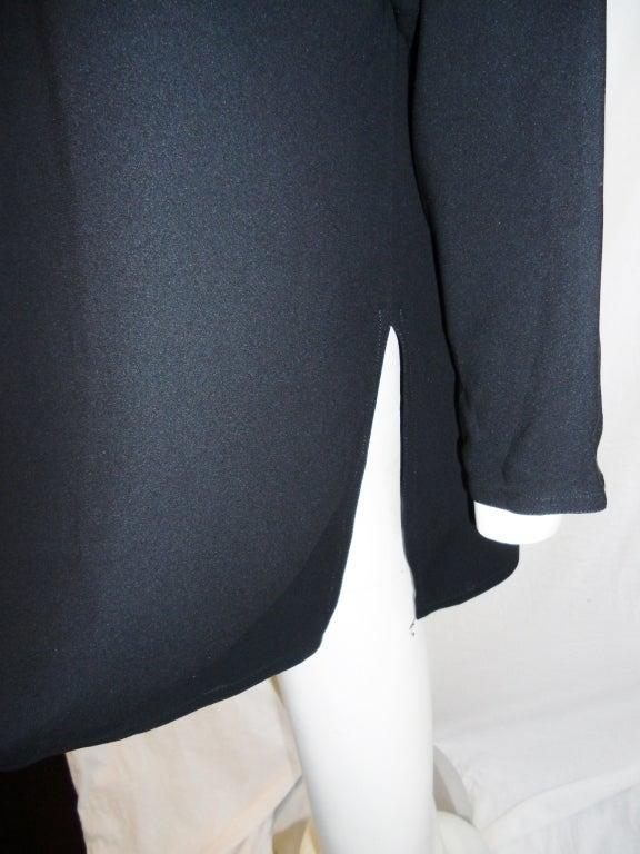 Zoran long sleeve silk tunic 6