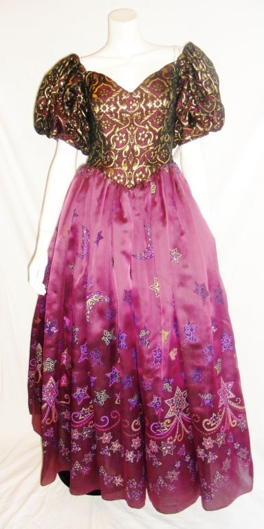 Zandra Rhodes 'When You Wish Upon a Star' Gown 6