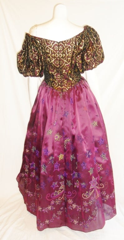 Zandra Rhodes 'When You Wish Upon a Star' Gown 7