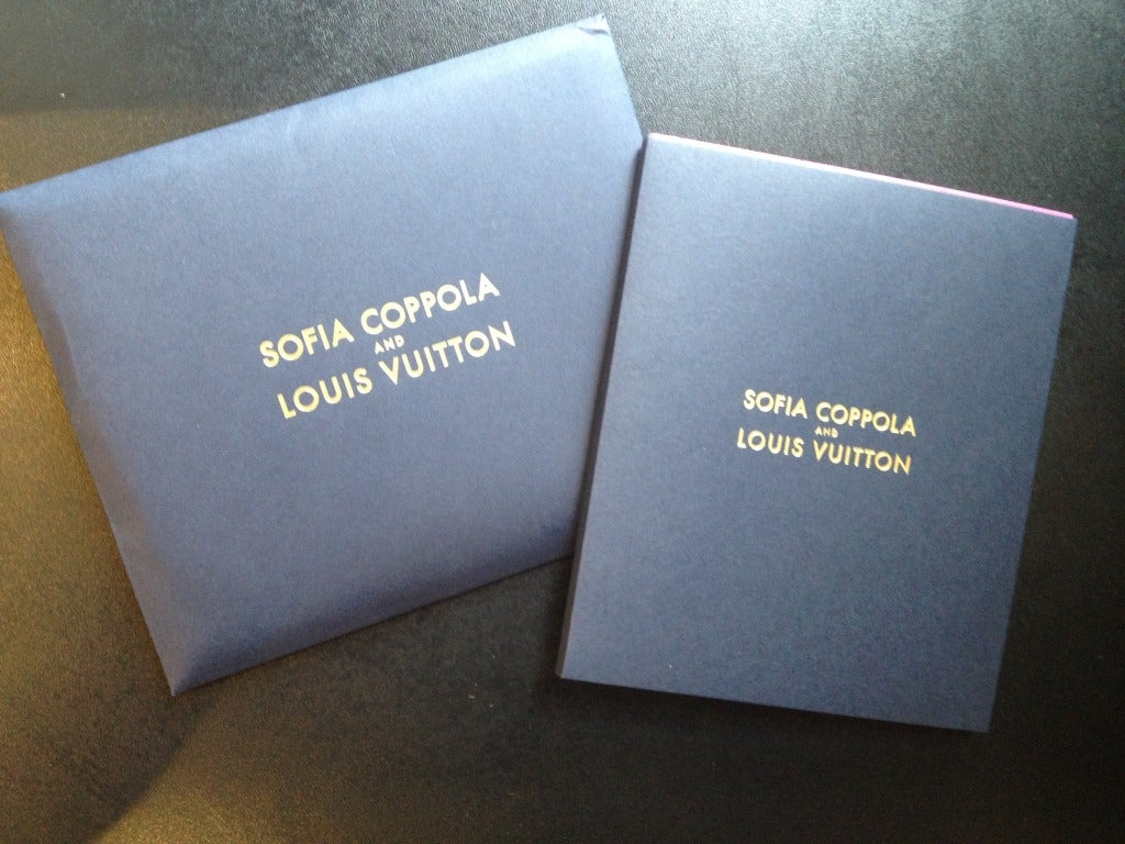 SOLD OUT Limited Edition Sofia Coppola Louis Vuitton Clutch 4