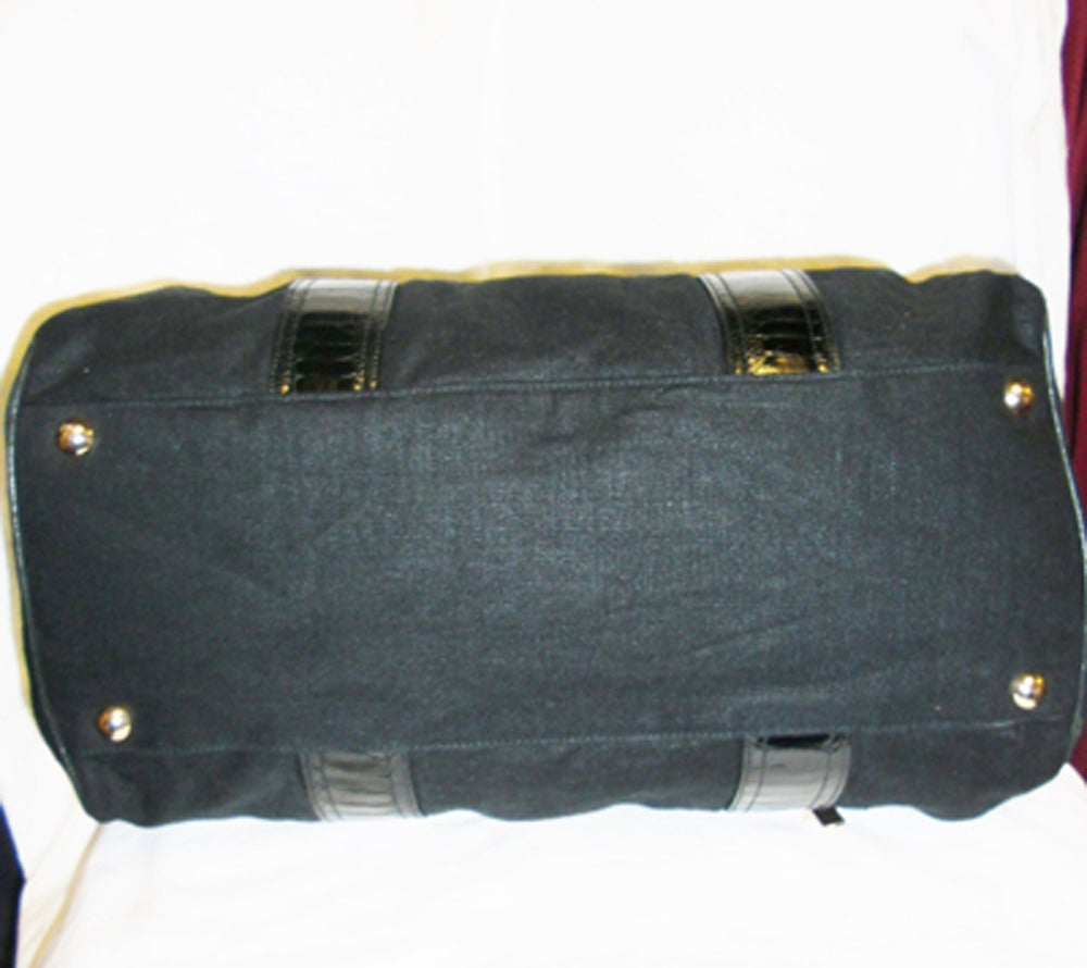 Balenciaga Alligator Trim 'whistle' Satchel Handbag 4