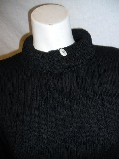 Chanel Black Wool Sweater 2