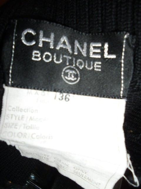 Chanel Black Wool Sweater 5