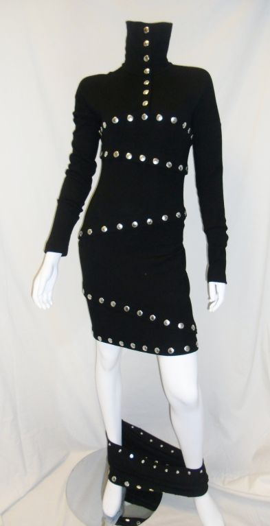 """Dolce & Gabbana extremely rare """"Snap"""" Dress 4"""