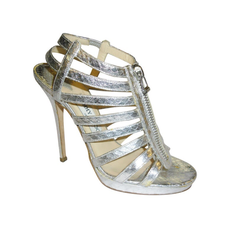 Jimmy choo clenys elaphe snakeskin gladiator inspired for Jimmy s fine jewelry