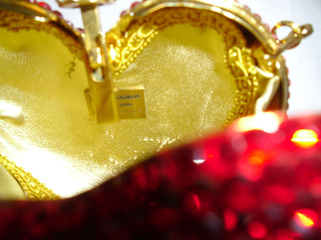 Kathrine Baumann Heart minaudiere evening bag image 4